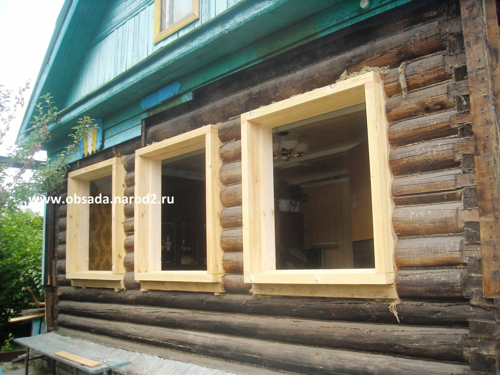 Установка пластикового окна в старом деревянном доме своими руками